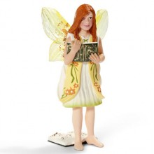 fairy with book