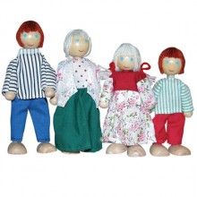 white doll family
