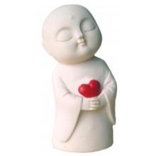 Jizo with Heart