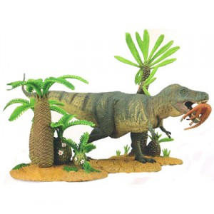 trex with plants