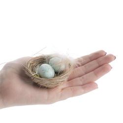 light_blue_artificial_egg_filled_bird_nests_medium