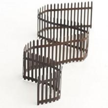 tin picket fence