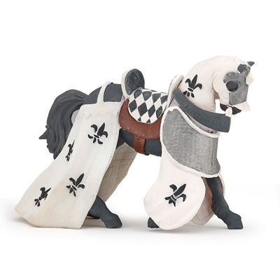 white knights horse