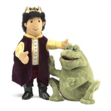 frog prince puppet