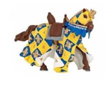 Blue Medieval Horse