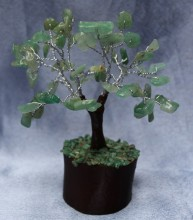 Green Aventurine Fairy Size Tree
