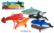 ANIMALS-SEALIFE 6PC