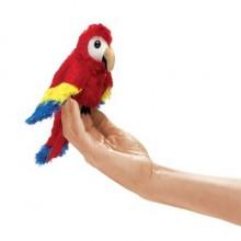 mini parrot puppet