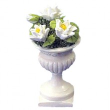 urn with flowers