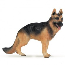 papo german sheppard dog